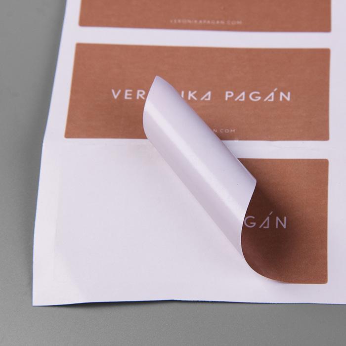 China Sinicline Glossy Finished Black Adhesive Sticker Paper