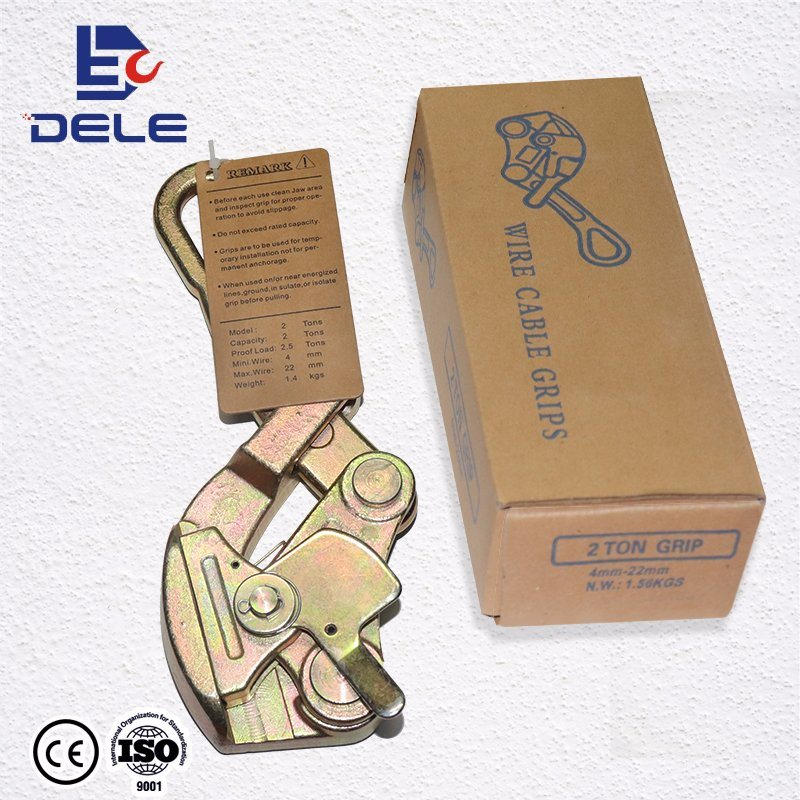 China Hand Puller Cable Grip Rope Grip Photos & Pictures - Made-in ...