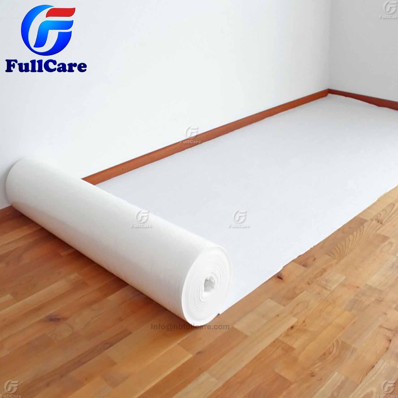 White Protective Glue Sticky Floor Felt