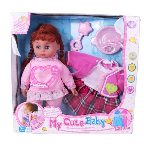"14"" Best Selling Products Pretty Baby Girl Doll Toys for Sale pictures & photos"