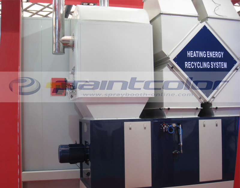 Heating Energy Recycling High-End Spray Booth