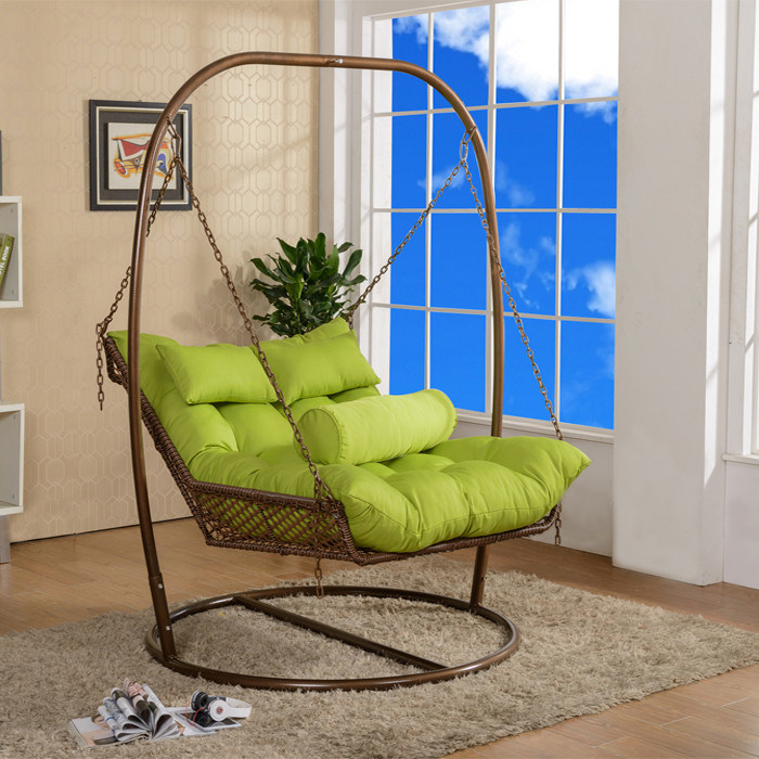 Single Double Increase Outdoor Rattan Hammock Swing Chair pictures & photos