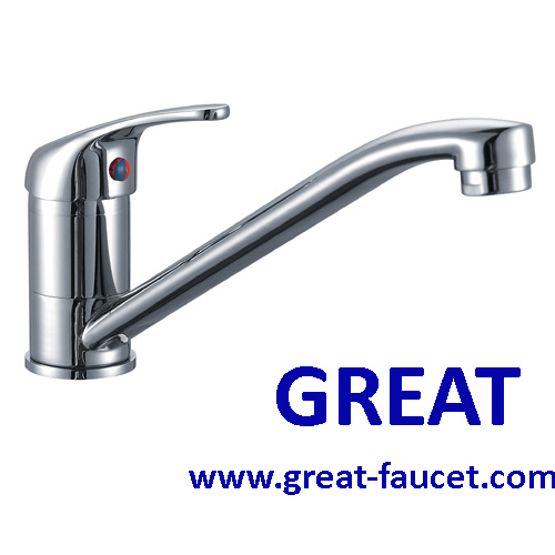 China Basic Kitchen Faucet In Good Chrome China Faucet Kitchen Faucet
