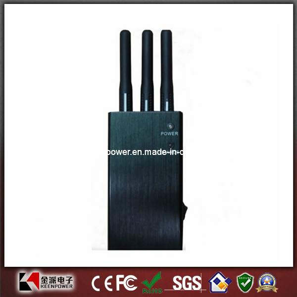 Portable Mobile Phone Jamer GPS Cell Phone Jammer Blocker