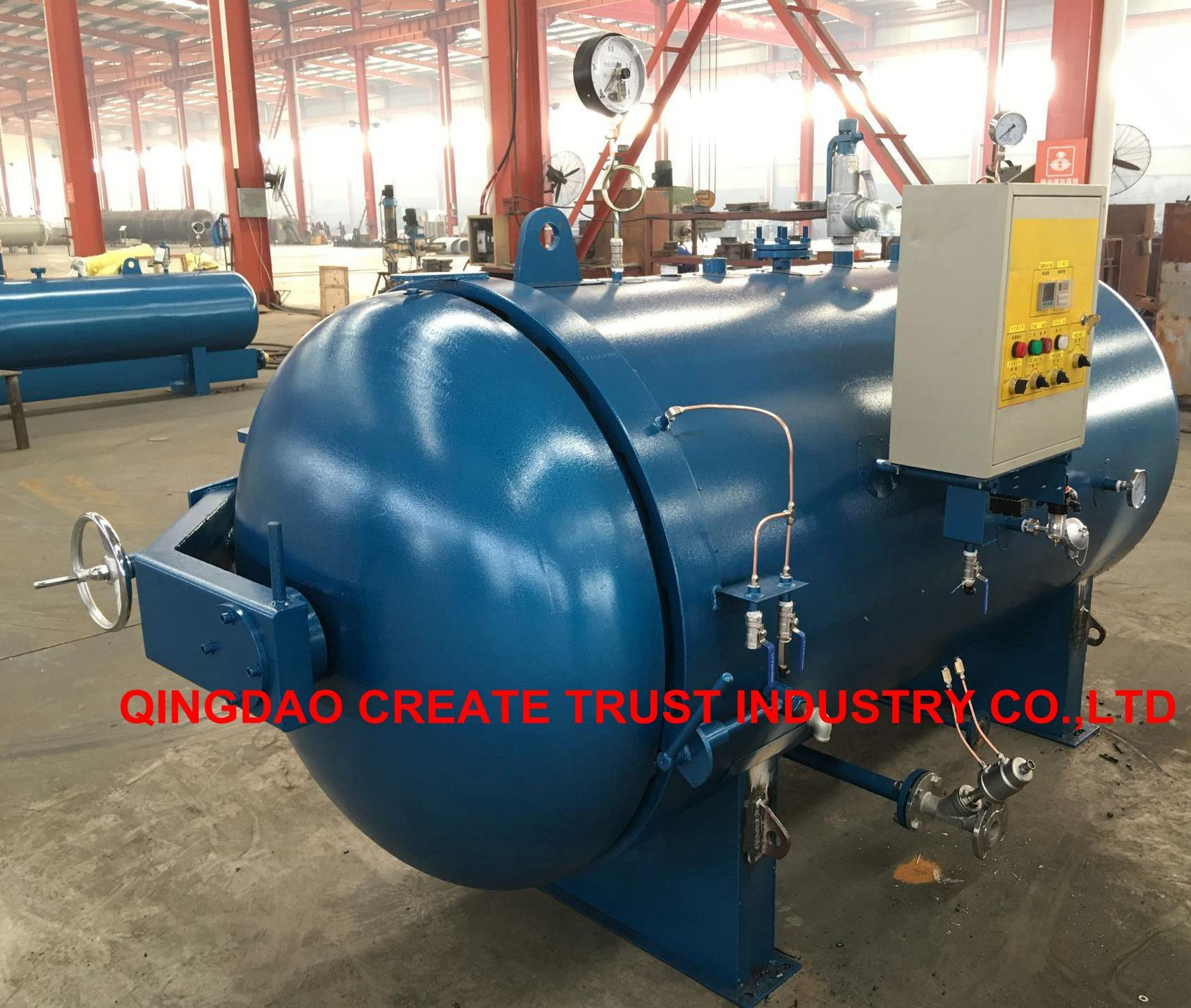 China High Performance Rubber Autoclave / Rubber Boiler with Full ...
