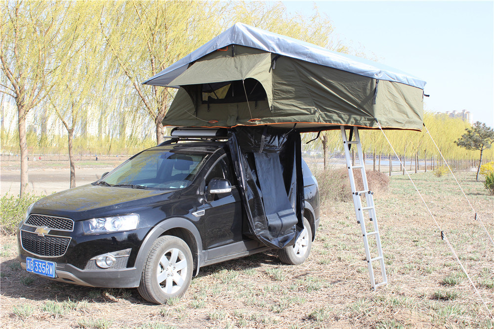 China Car Roof Awning With Waterproof Camping Top Tent