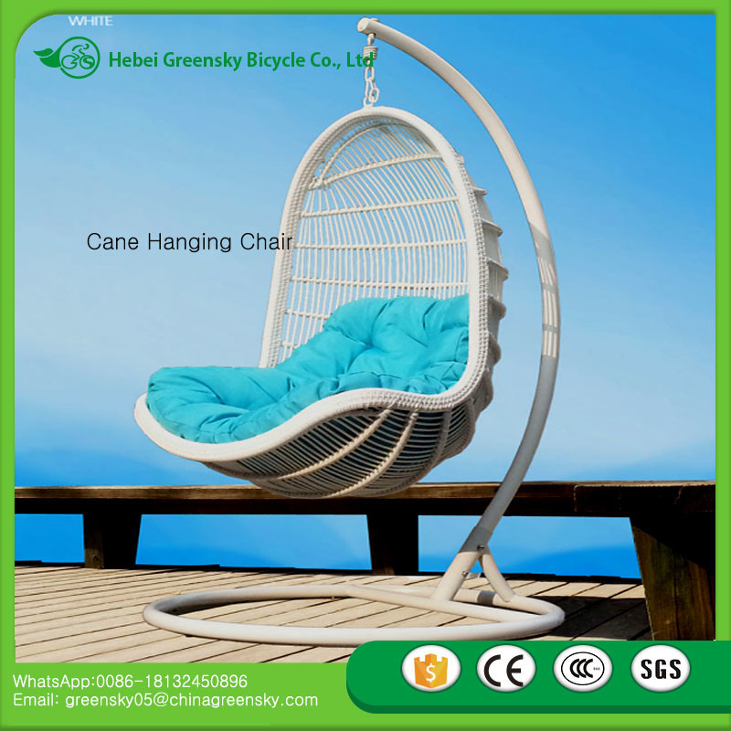 2017 Indoor Bamboo Swing Chair Cane Swing Hammock Hanging Pod Chair