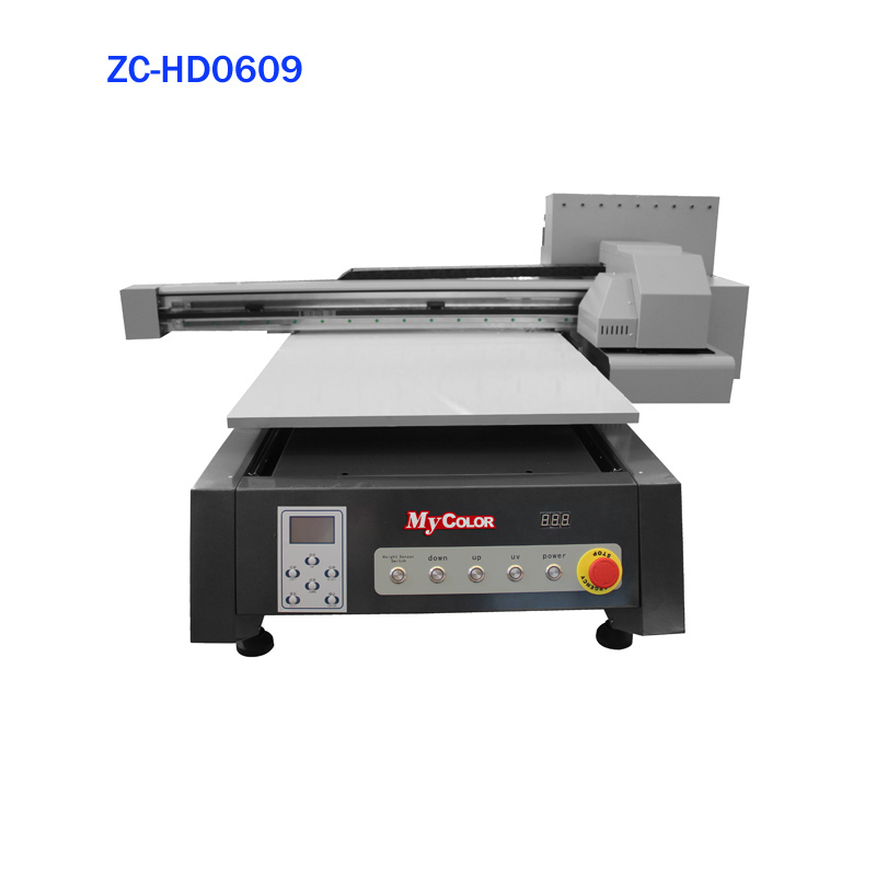 China My Color Desktop Digital Uv Printer Small For Phone Cover Flatbed 6090