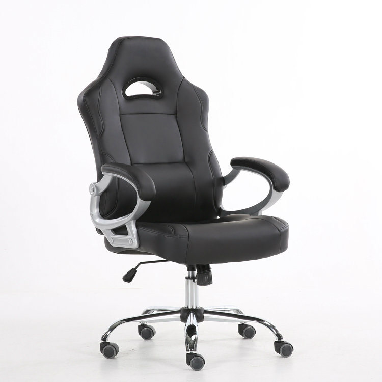 China Thailand Customized Armrest Gaming Office Chair With Chrome Base Racing