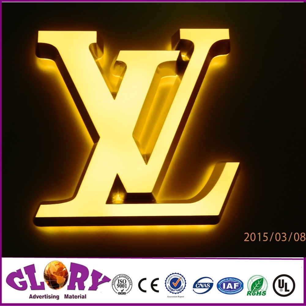 Electronic Components & Supplies Advertising Acrylic Frontlit Led Letter