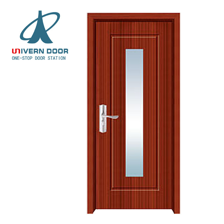 China Mdf Core Door Maple Interior Exterior Pvc Flat Doors For Small