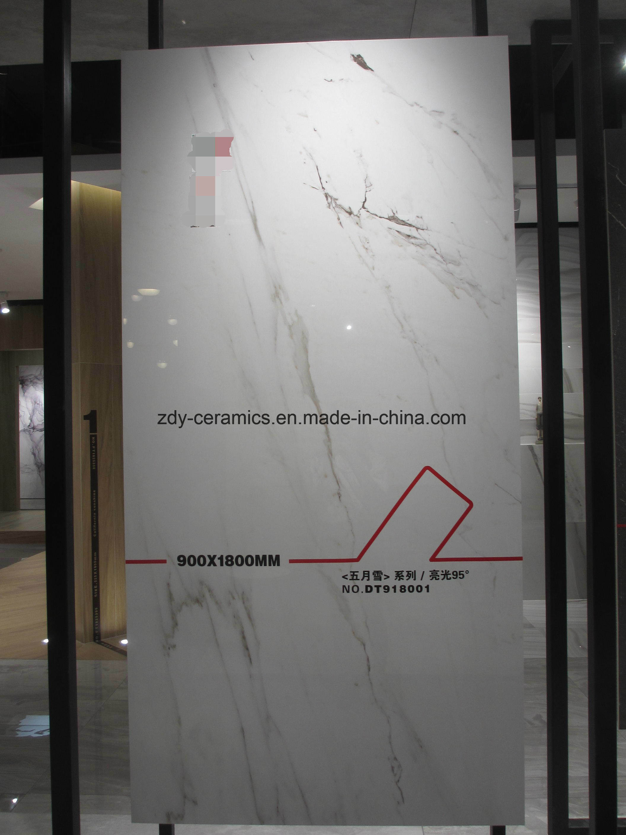 China Building Material Big Size Luxury Full Body Marble Floor Tile
