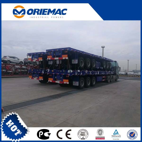 12.5 Meters Truck 3 Axles Semi Trailer pictures & photos