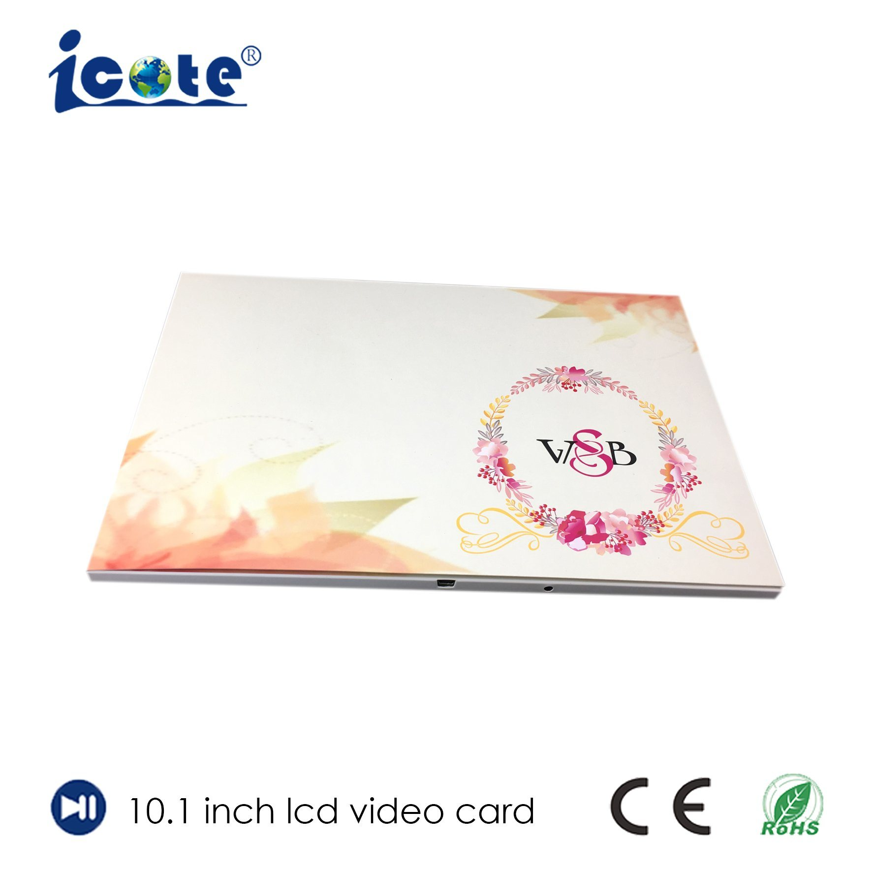 China 101 Inch 2014 Hot Sale Brochure Invitation Lcd Video Greeting