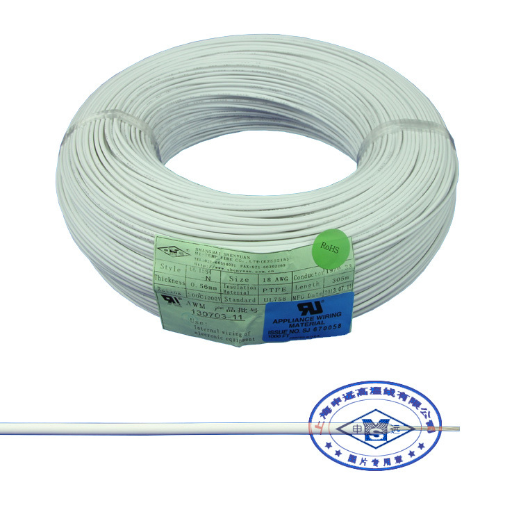 China PTFE Electric Heating Resistant Compensation Wire ...