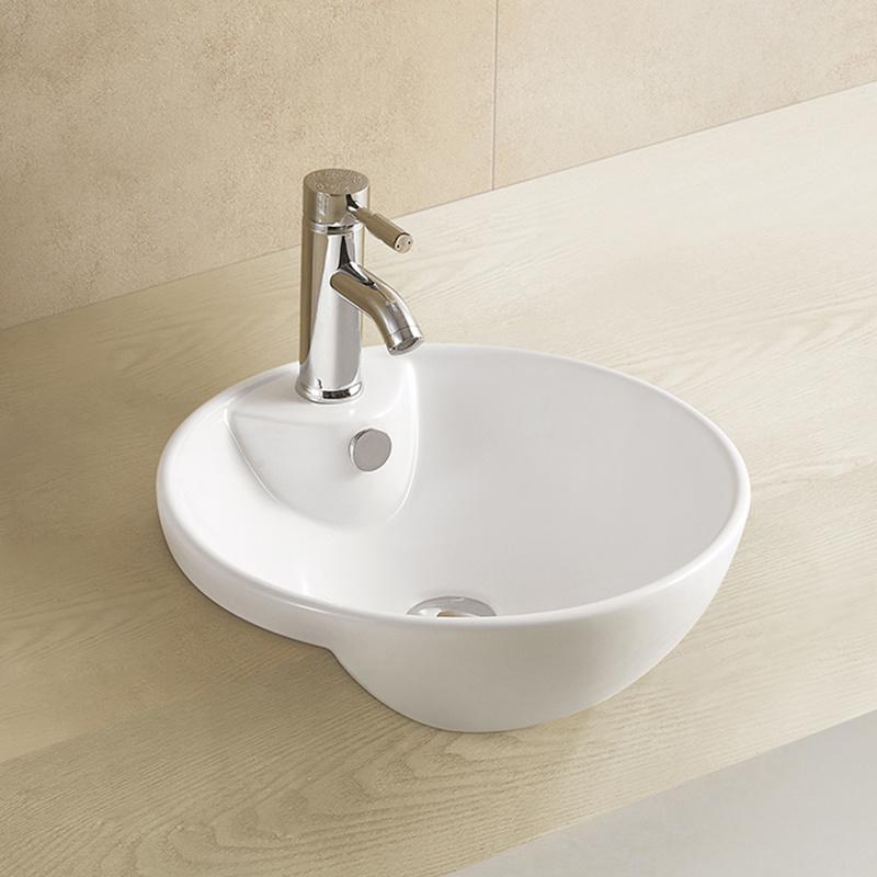 . China Popular Design Bathroom Modern Simple Wall Hang Wash Basin