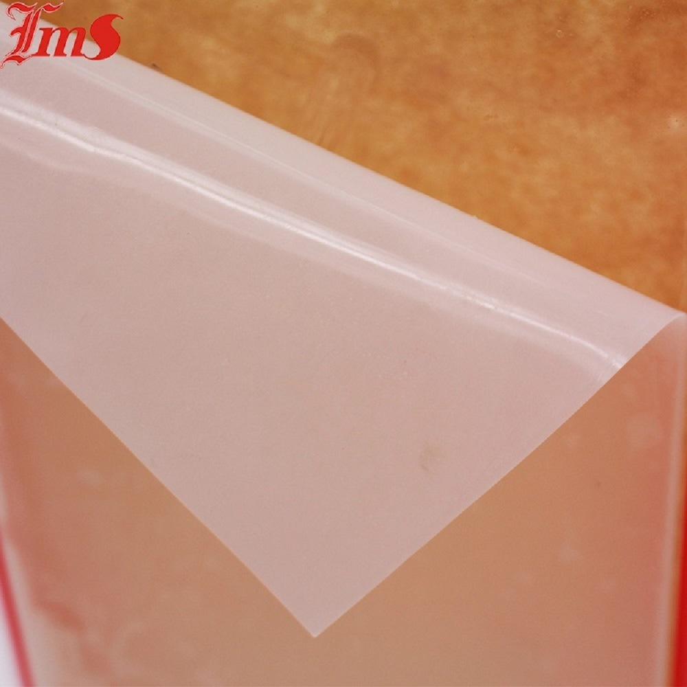 China FDA Certificate Food Grade Transparent Silicone Sheet