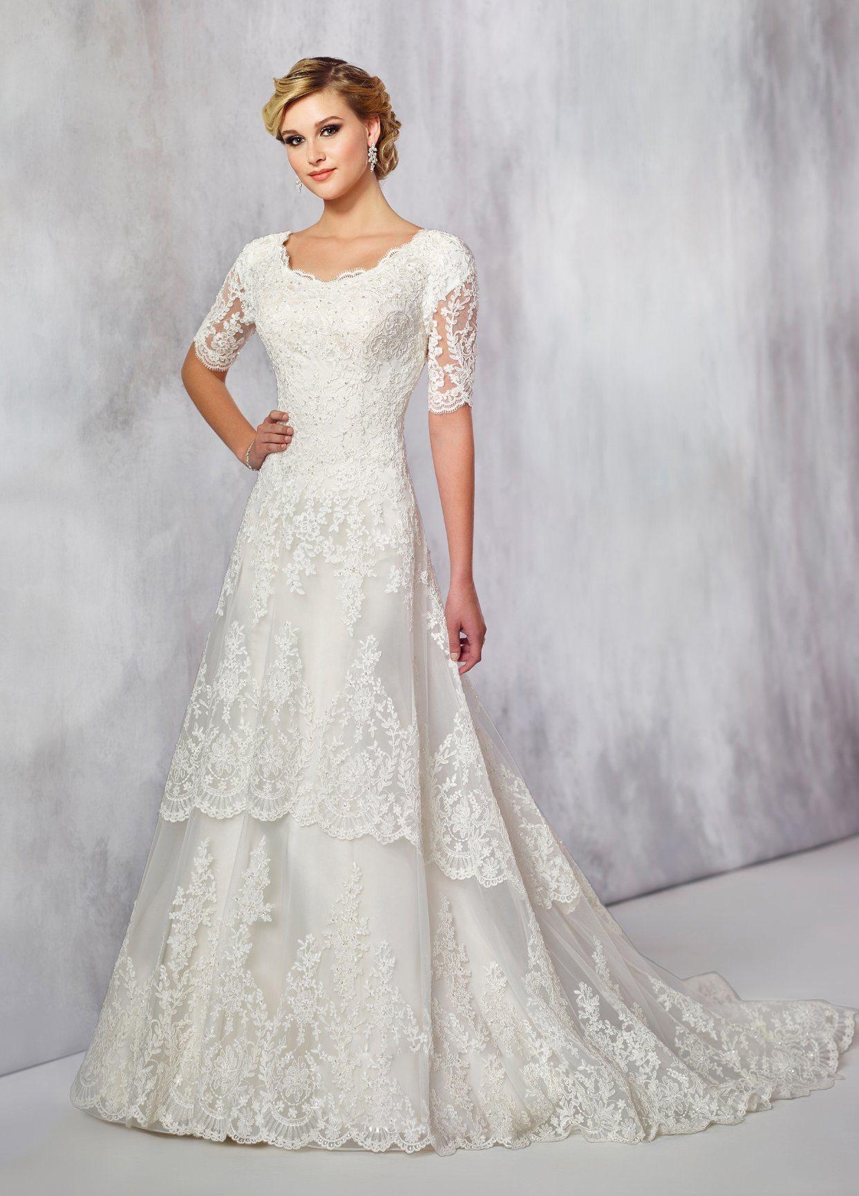 8edd507b65007 China Amelie Rocky Half Sleeves Custom Made Satin Wedding Dresses
