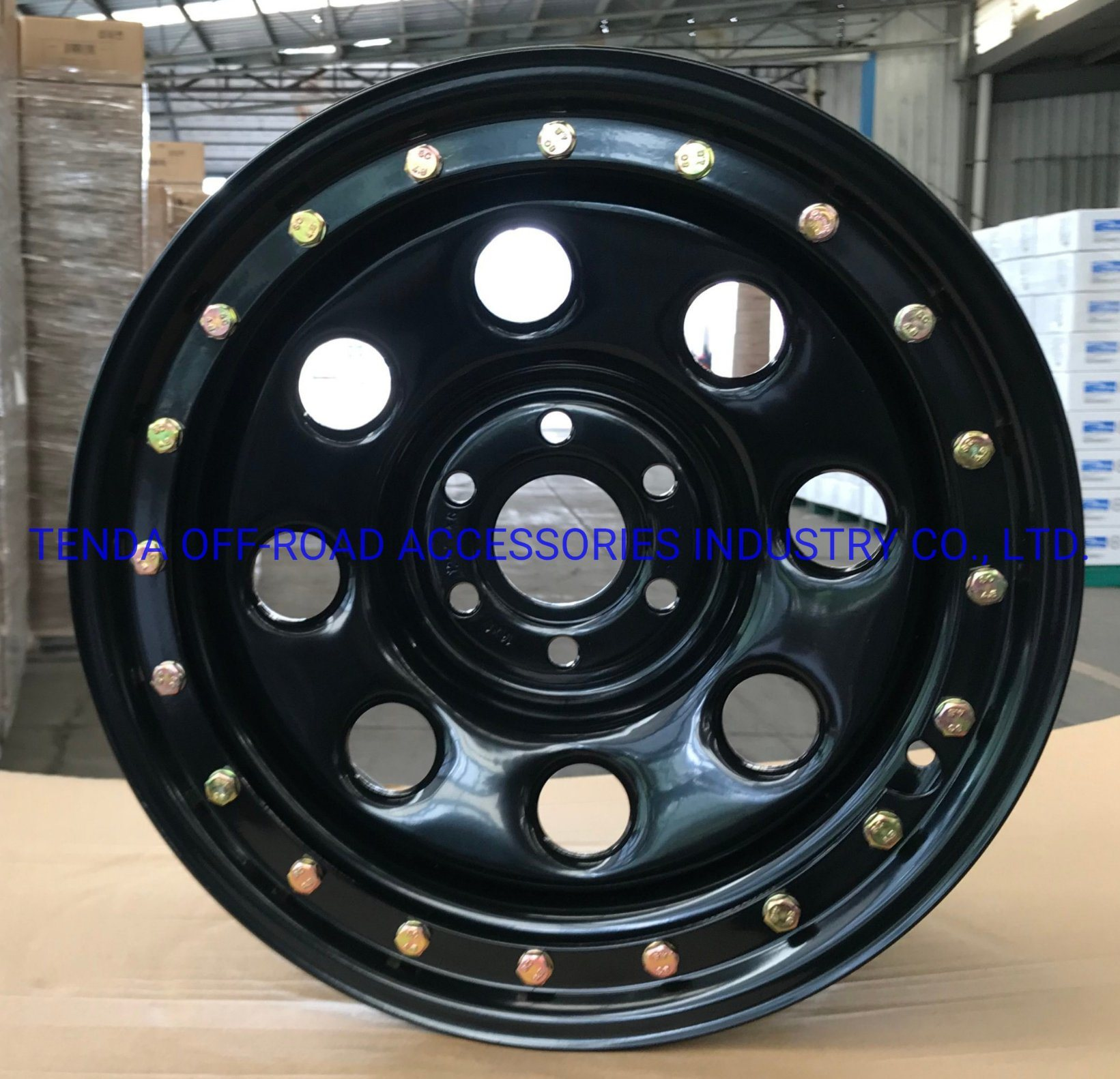 China Off Road Beadlock Steel Wheels Rims For All 4x4 Vehicles And Toyota And Nissan And Suzuki And Jeep China Alloy Wheels 4x4 Wheels