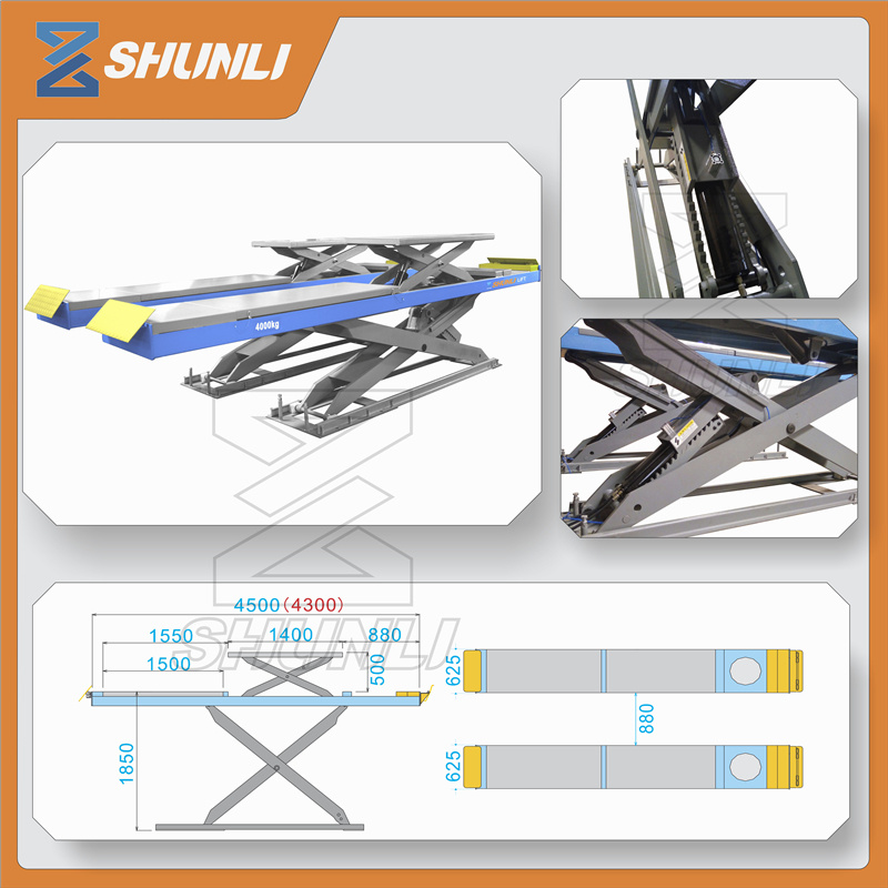 China Alignment Scissor Portable Car Lift Equipment With Ce China