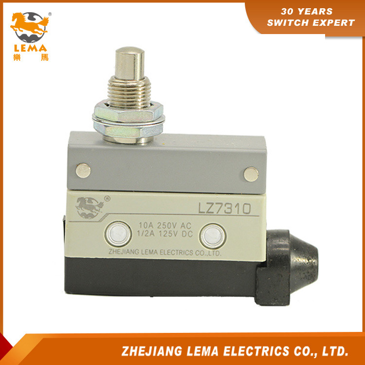 Lema Lz7310 Panel Mount Push Plunger Sealed Limit Switch