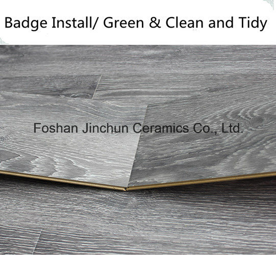 Black Color Laminated Flooring Tile pictures & photos