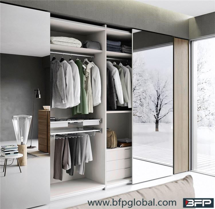 china mirror sliding door bedroom wardrobe photos pictures made