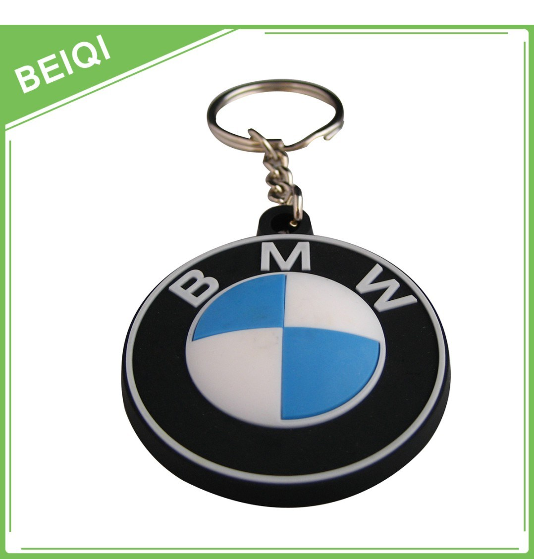 Promotional Gifts Rubber Key Chain / Custom PVC Keychain / Plastic Silicon Keychain