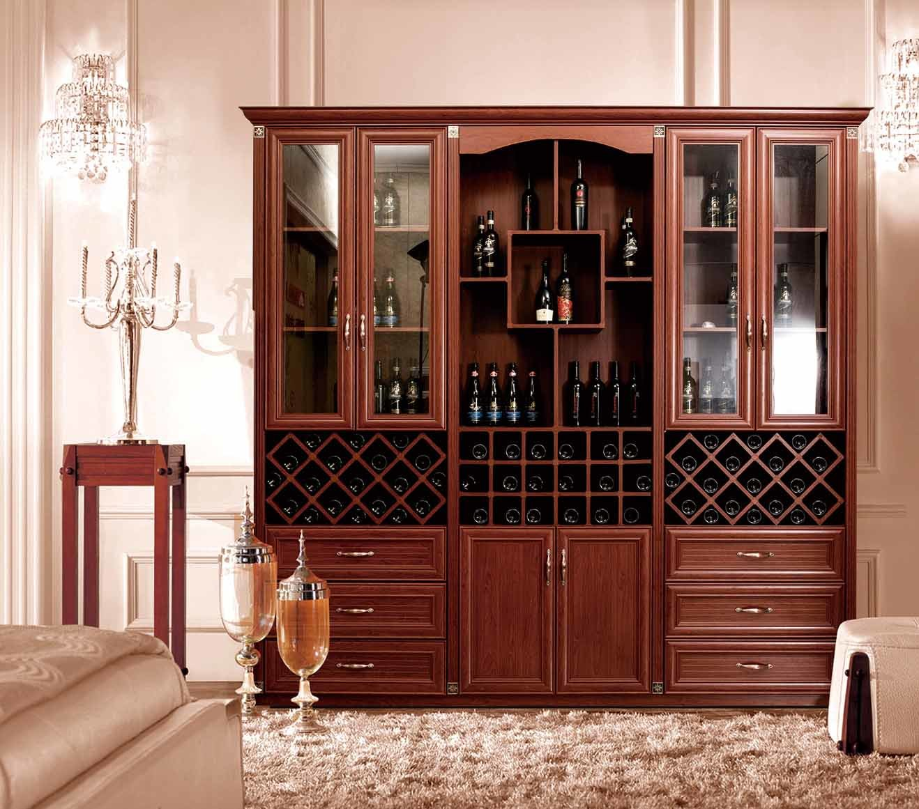 China Aluminum Wine Cabinet for Visiting Room Furniture Br-Alw001 ...