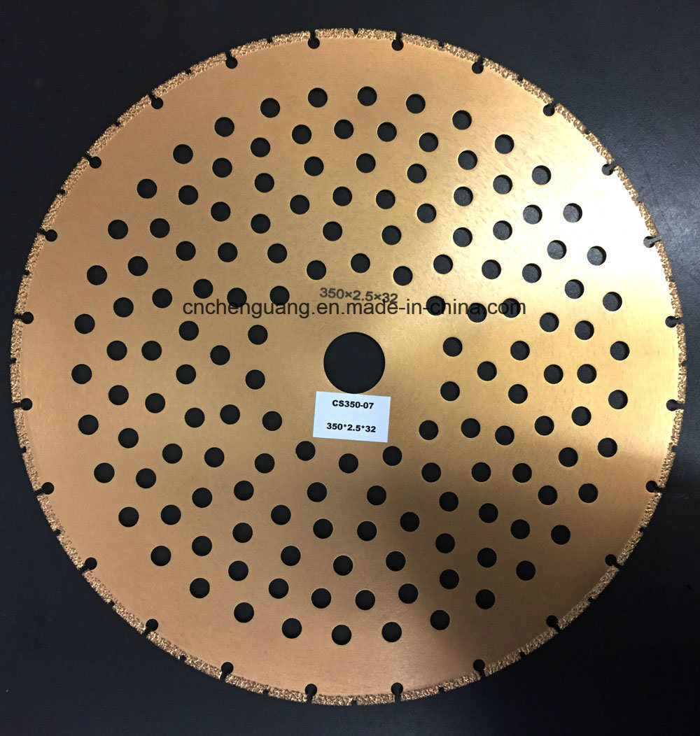 Vacuum Brazing Cutting Disc 100mm 150mm 180mm Diamond Circle Saw Blade pictures & photos