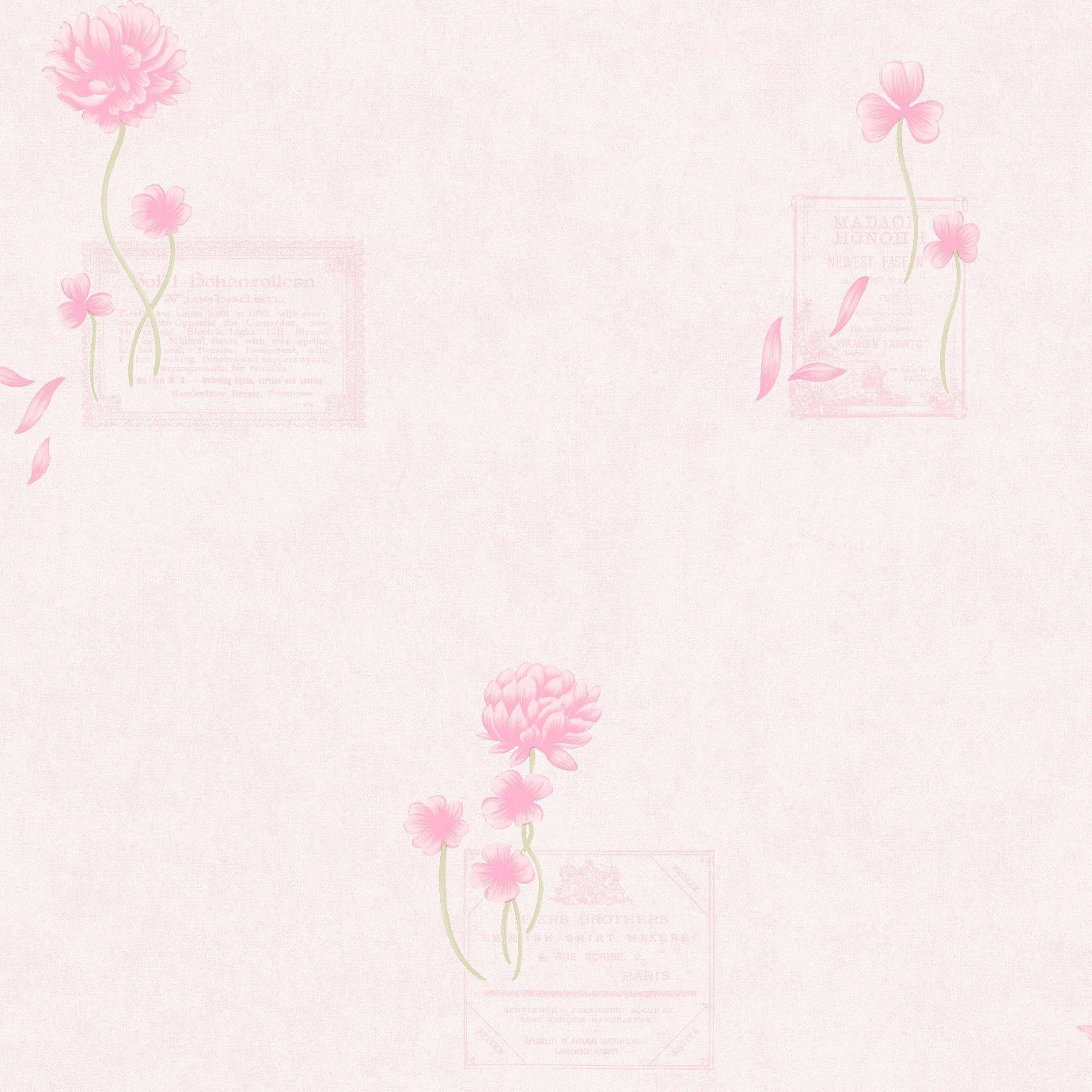 China Wallpaper With Simple Flower Pattern For Home Decoration Photos Pictures Made In China Com