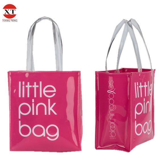 China Vinyl Pvc Shopping Tote Bag Opaque Amp Transparent