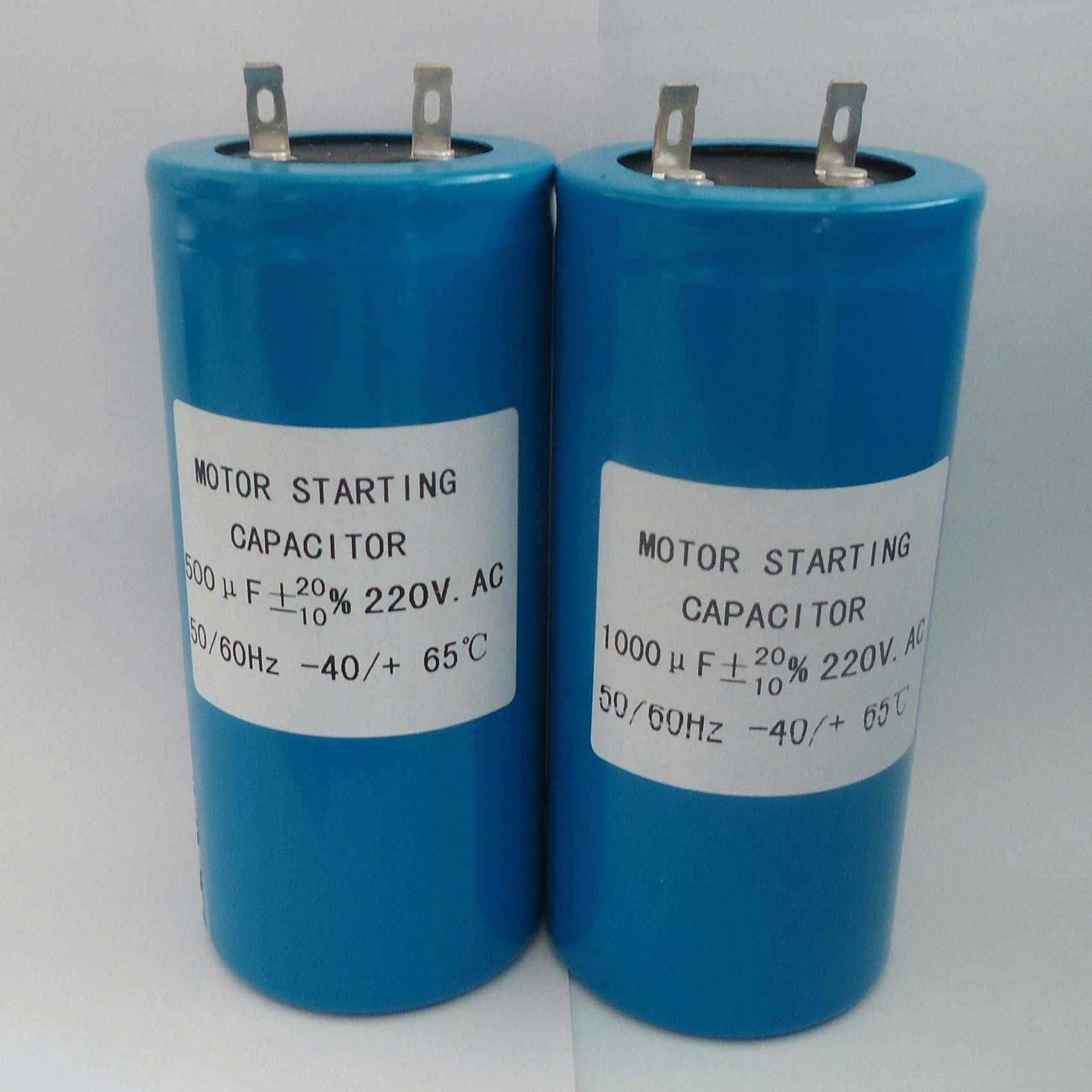[Hot Item] Unpolarized Electrolytic Capacitor 500 or 1000 Micro Farad 220VAC