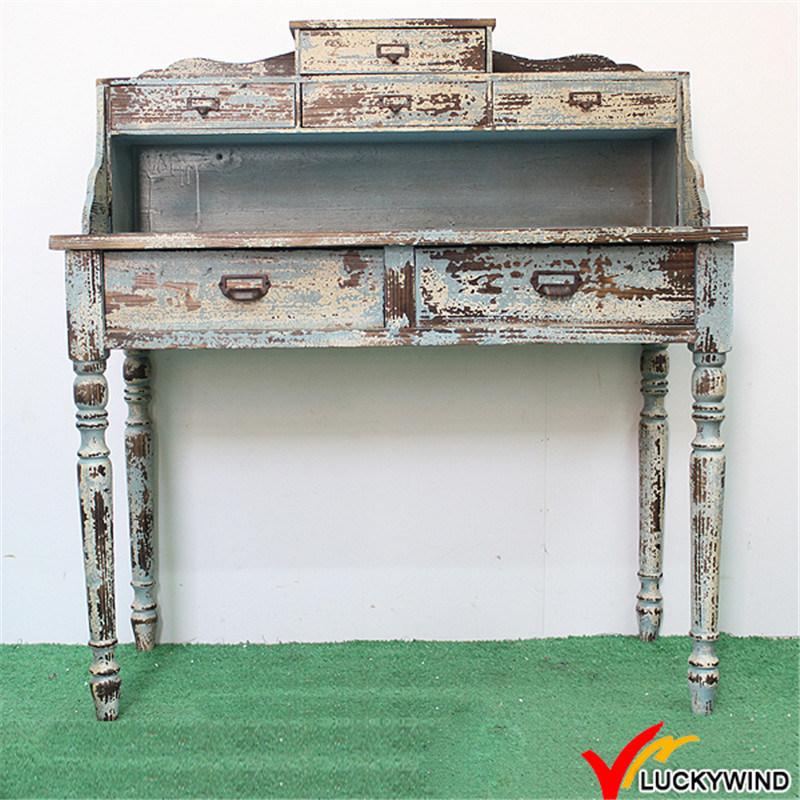 China Handmade Indoor Distressed Wood Carved Console Table   China  Distressed Table, Wooden Table