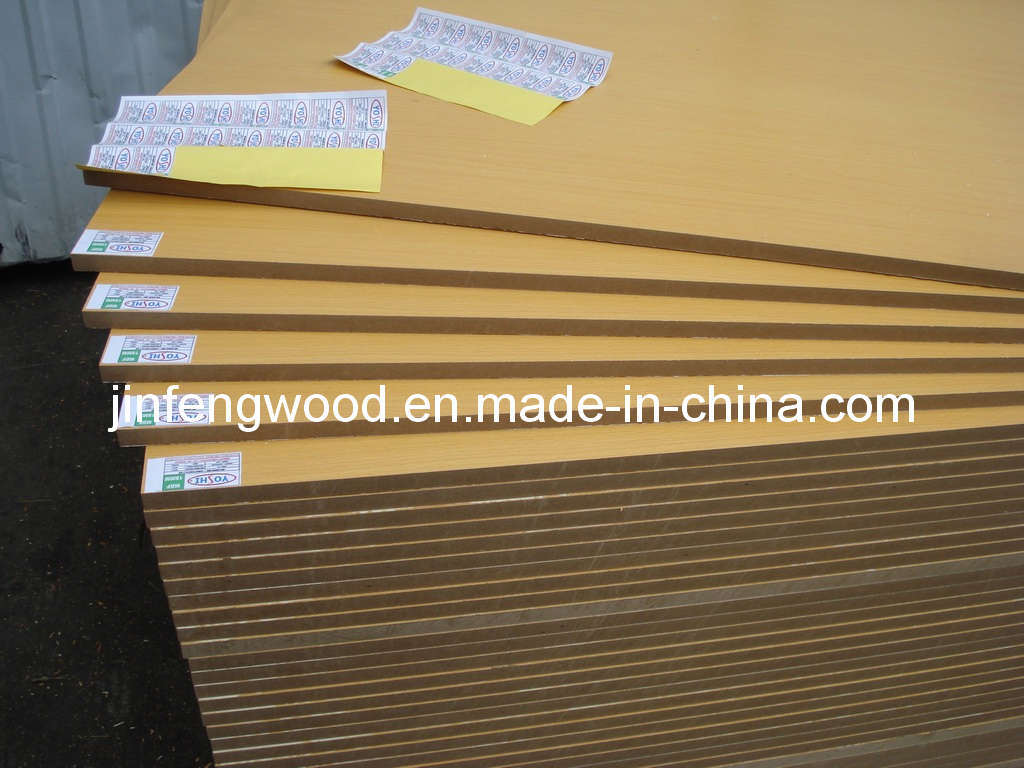 Furniture Use Melamine Particle Board/Melamine Mdflaminated MDF Moisture Proof MDF pictures & photos