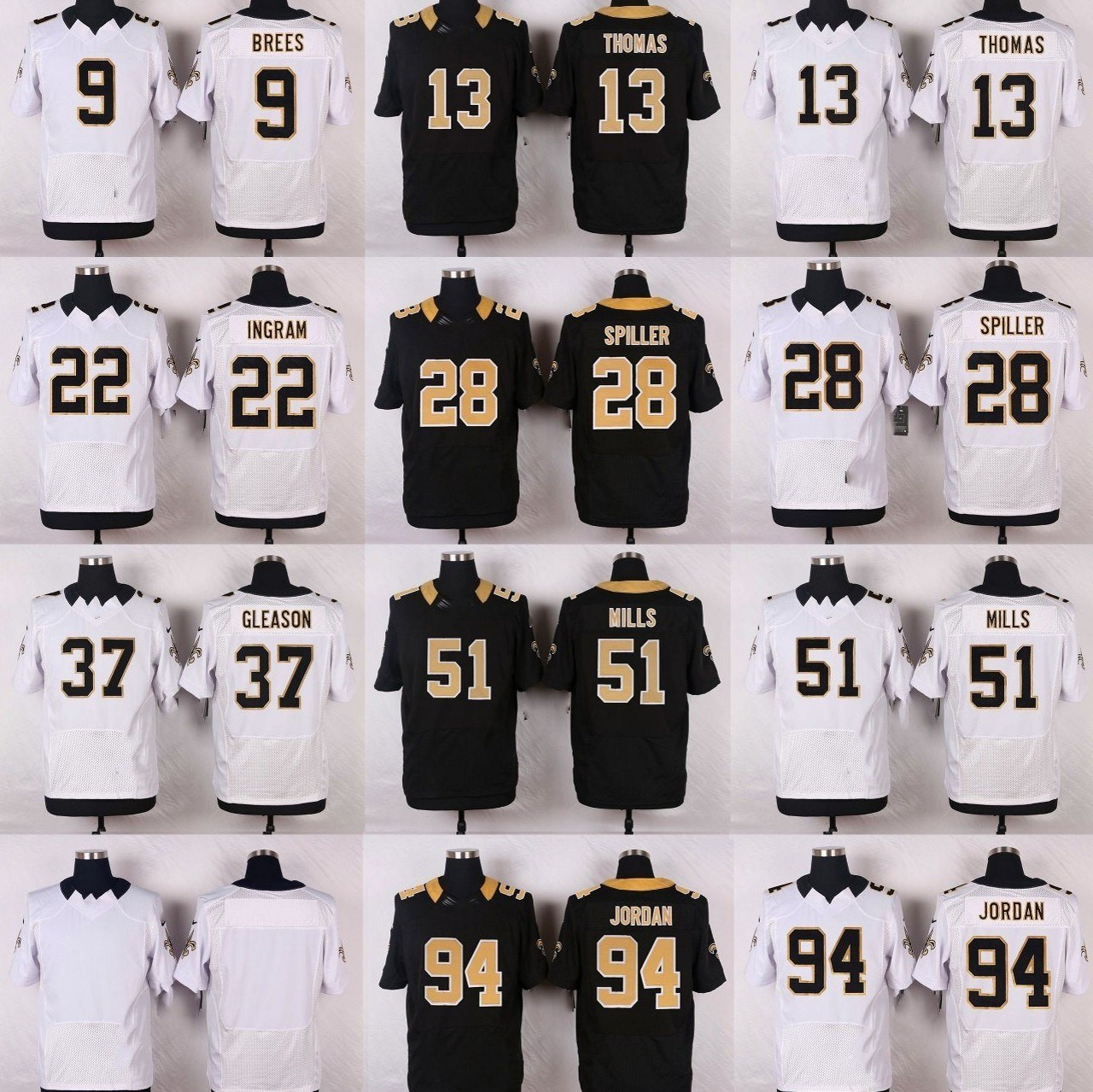 sale retailer 8b2b9 fc9d0 [Hot Item] Drew Brees Michael Thomas Alvin Kamara New Orleans Football  Jerseys