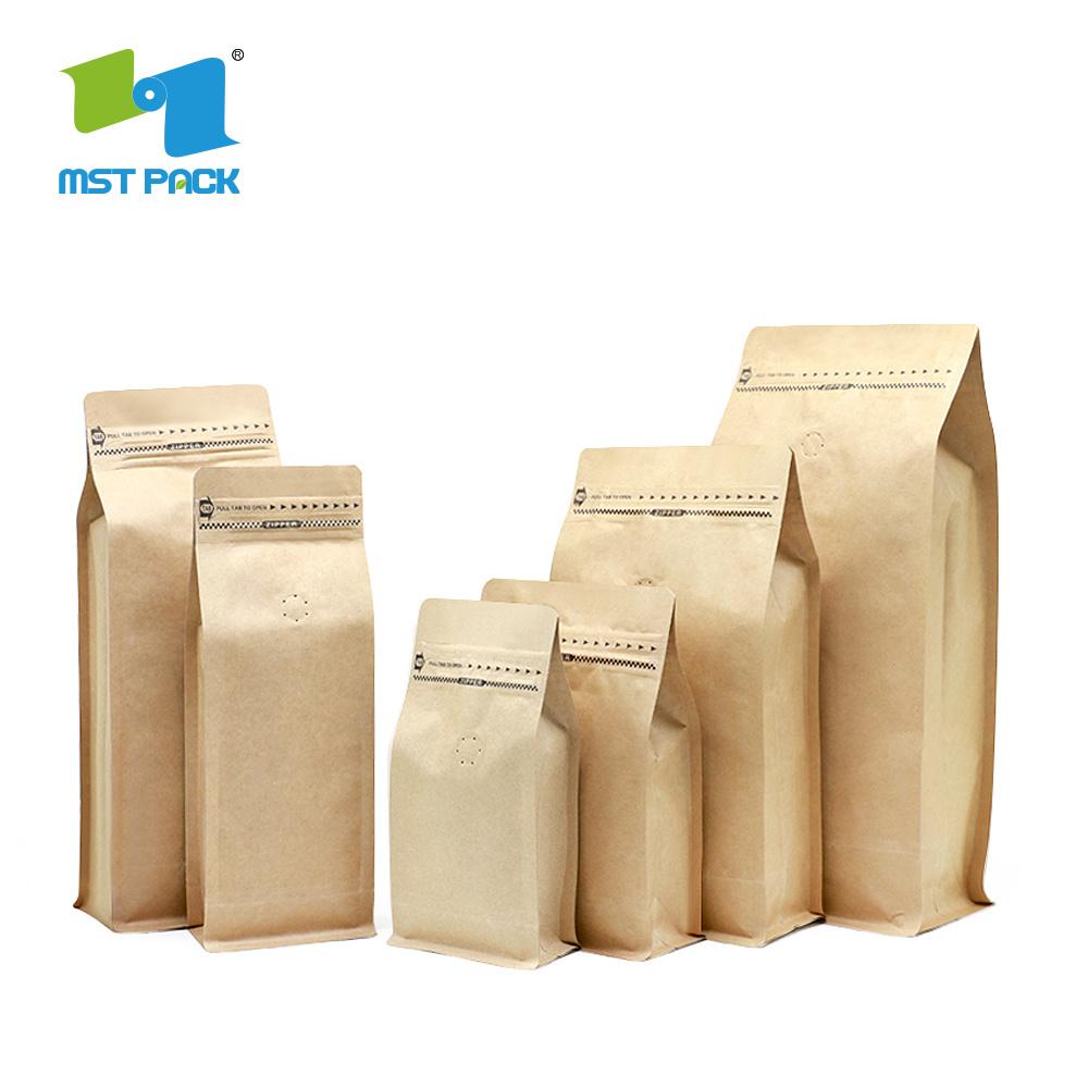 Kraft Paper Customized Reusable Coffee