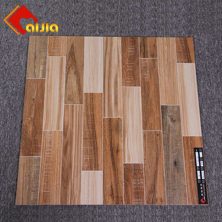 China Hot Sale 600x600 Polished Glazed Kitchen Wood Look Floor Tile For Restaurant China Rustic Tile Building Material Tile