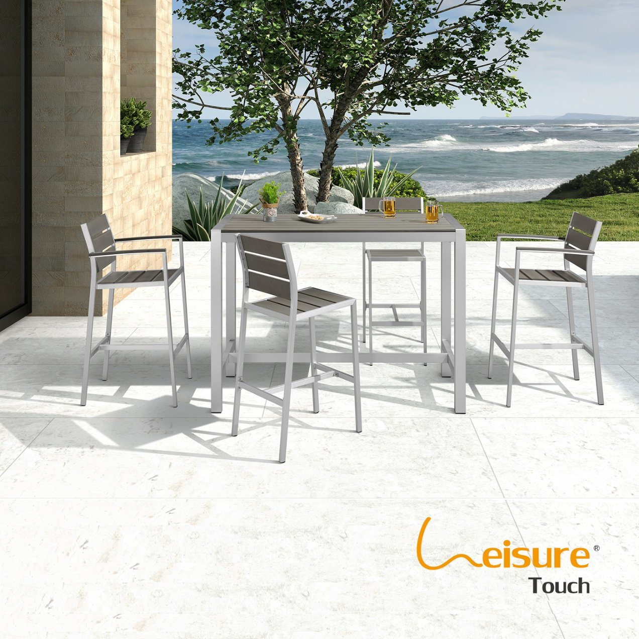 Outdoor Bistro Table And Chair Leisure
