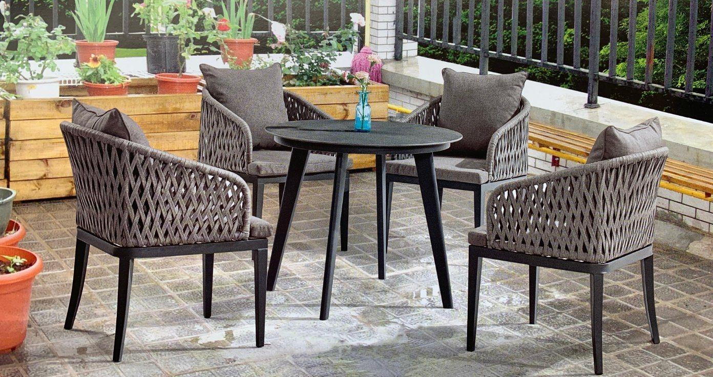 China Pe Rattan Patio Weaving Garden