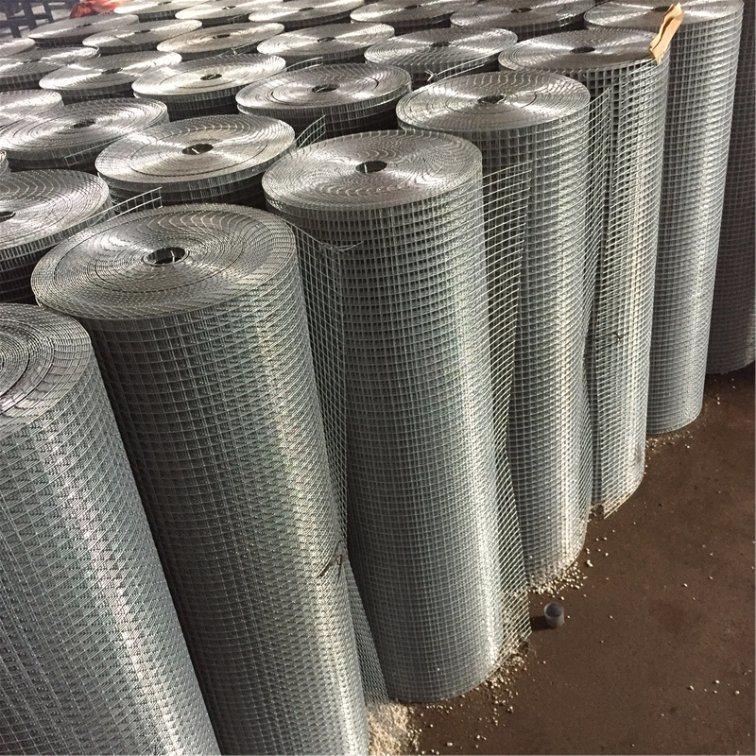 China 10G/M2 to 250G/M2 Galvanized Welded Wire Mesh - China Welded ...