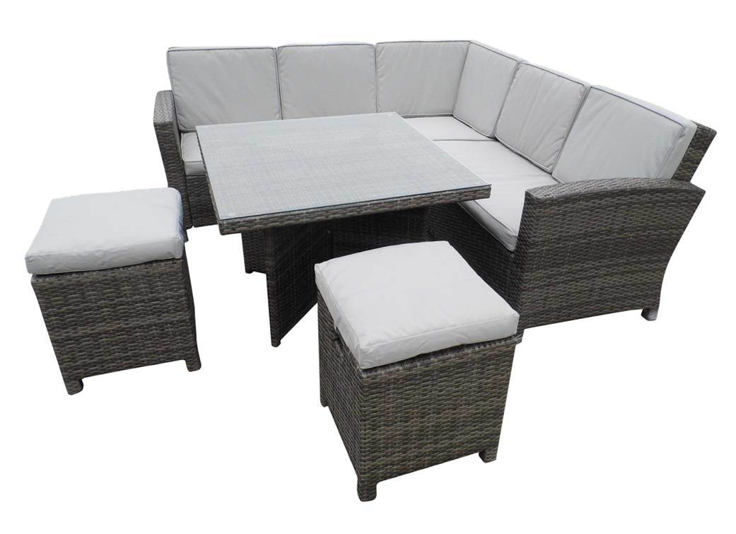Rattan Outdoor Corner Sofa Set Refil Sofa