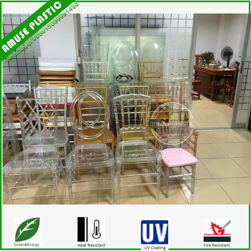White Gold Chair Furniture Rental Hire pictures & photos