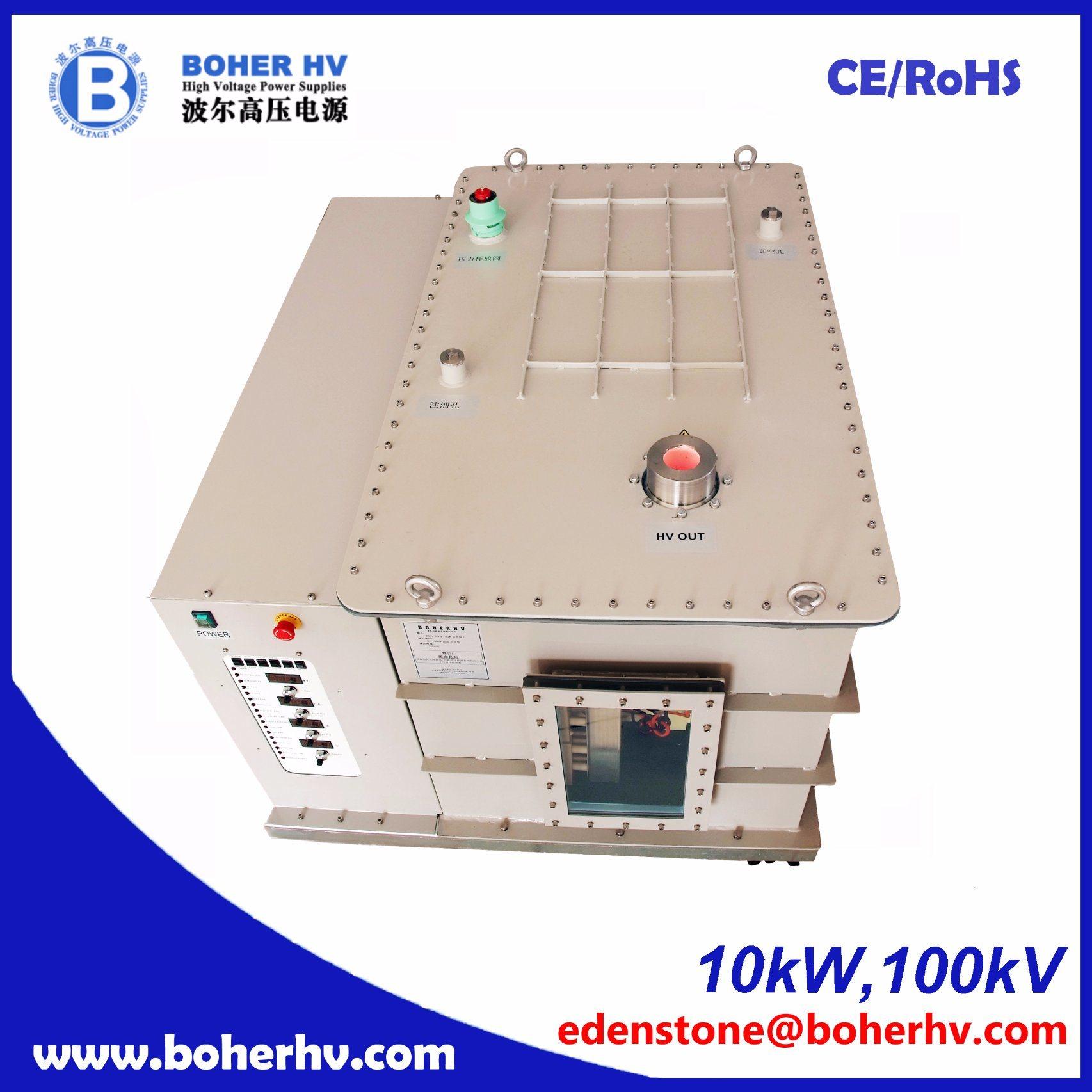 China Electron Beam Welder High Voltage Power Supply 10kw 100kv Eb 380 F30a B2kv Ebw Psu