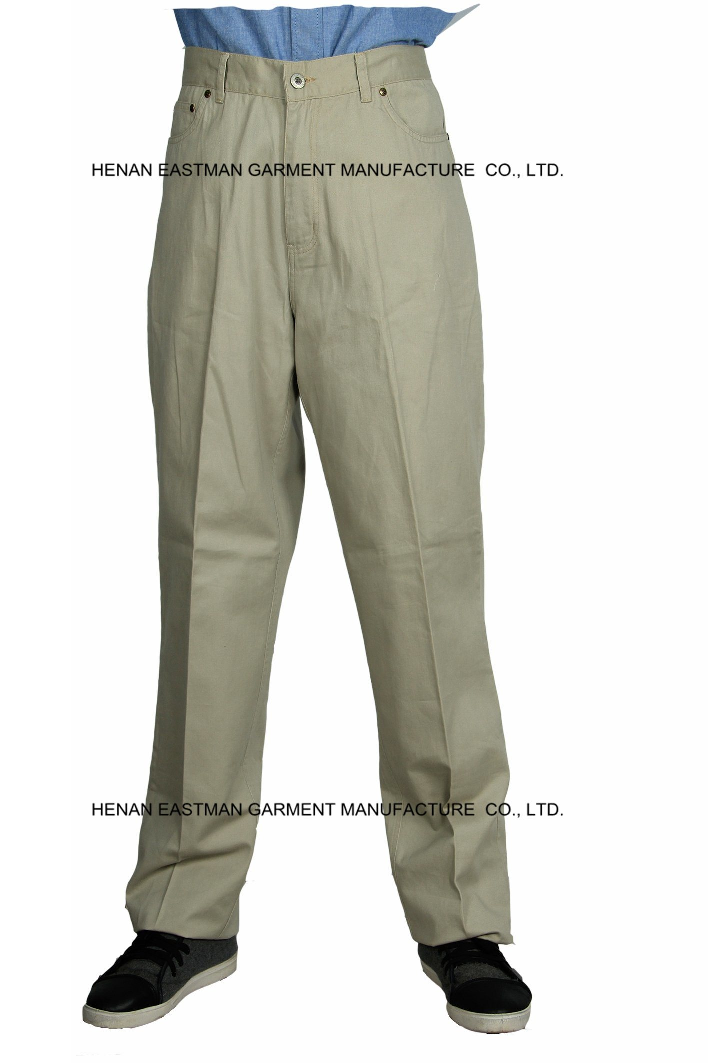 100% Cotton Man Casual Pants Customized Cheap Workwear Pants