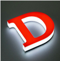 [Hot Item] Custom 3D Illuminated LED Acrylic Letter Signs (FLC-67)
