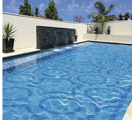 Blue Color Mosaic Tile For Swimming Pool /Mosaic Tile