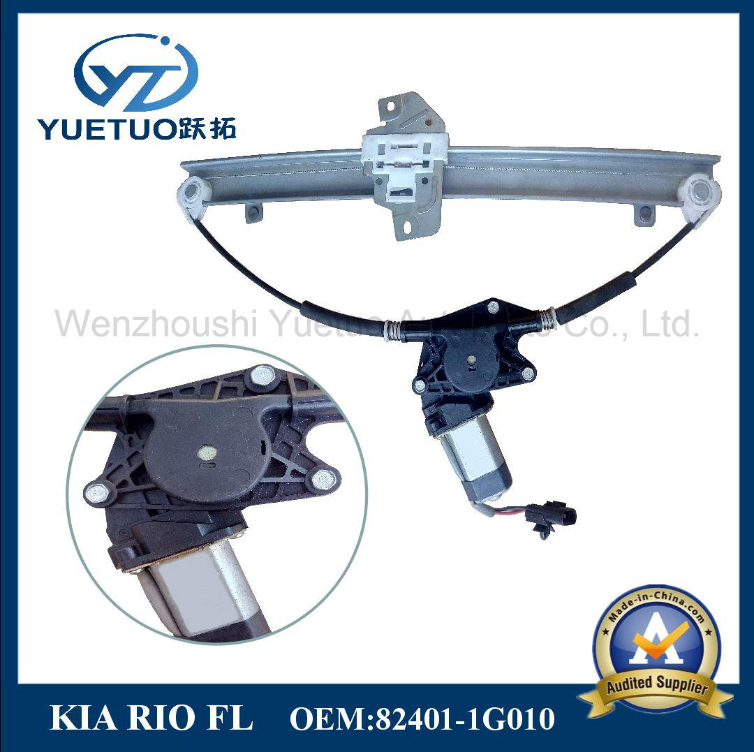 Power Window Regulator for KIA Rio Front Left 82401-1g010
