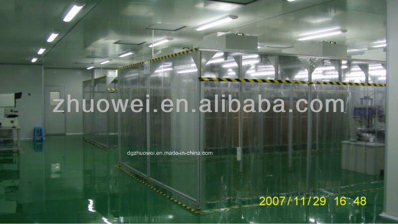 Stainless Steel Clean Booth for Electronics Industry