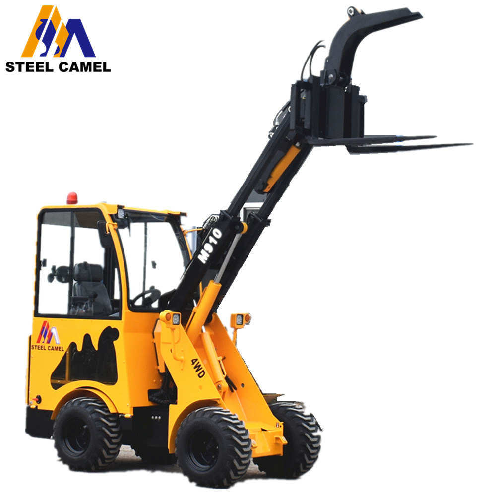 Power Rake For Sale >> China Small Kubota Engine Front Loader With Power Rake For Sale